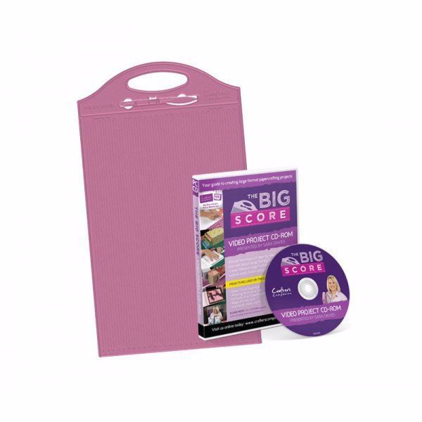 The Bic Scor - scoring tool fra Crafters Companion incl instruktions DVD