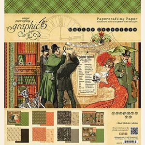 Papir blok 12x12 fra Graphic 45 - Master Detective