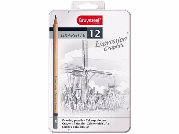 Bruynzeel Graphite Set til tegning og sketching