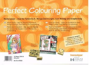 Perfect Colouring Papar - Marker Papir - 250 gram - A4