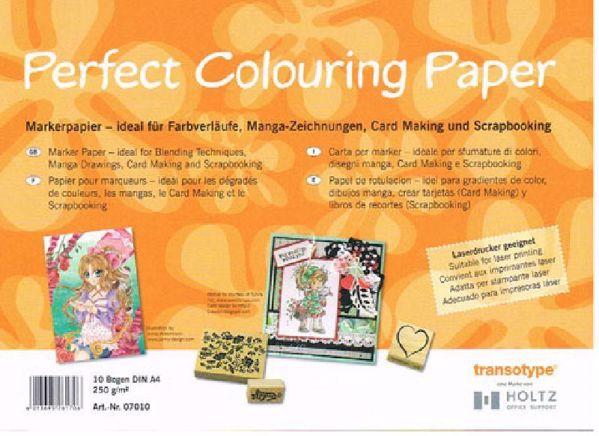 Perfect Colouring Papar - Marker Papir - 250 gram - A4