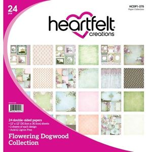 Flowering Dogwood Collection - Designblok fra Heartfelt Creations - HCDP1-275