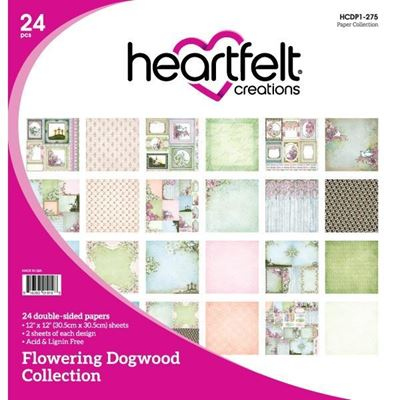 Flowering Dogwood Collection - Designblok fra Heartfelt Creations - HCDP1-275