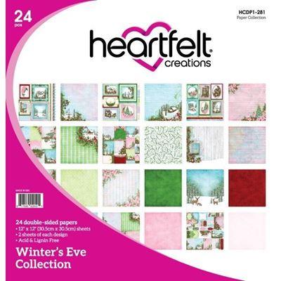Winter's Eve Collection - Designblok fra Heartfelt Creations - HCDP1-281