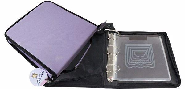 Ringbind opbevaring med 3 ringe - 5 magnet lommer - fra Nellie's Choice