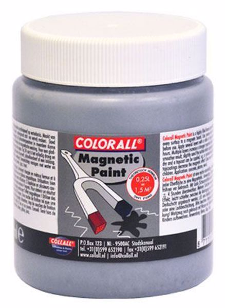 Magnetisk maling 250 ml fra Colorall