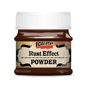 Rust Effect Powder - 180 gram - fra Pentart