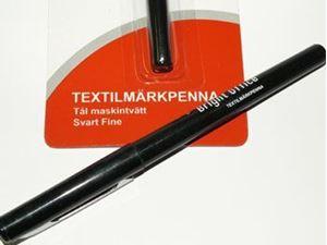 Textil marker til tegning tøj