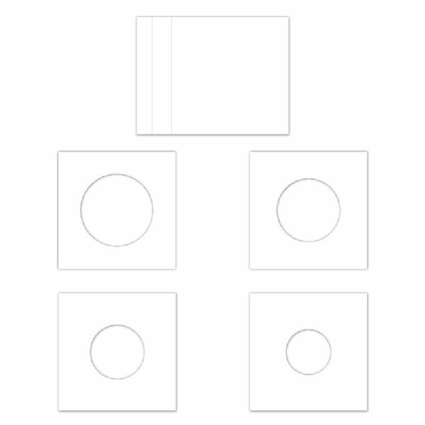 Bog kort, Layered Circles Cards fra Heartfelt Creations - HCLC1-454-2
