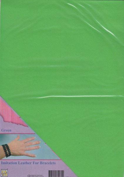 Imiteret læder fra Nellie Snellen - Grøn