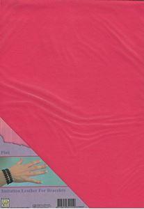 Imiteret læder fra Nellie Snellen - Pink