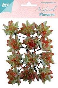 Dekorations blomster af papir 6370/0069 fra Joy Crafts