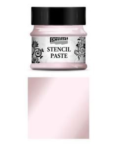 Stencil Paste - 50 ml - fra Pentart - Pearl Candy-floss