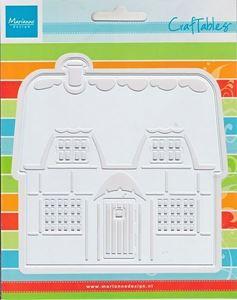 Marianne Design ChokolateBox hus - dies standsejern - CR1219