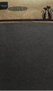 Sort pap til scrapbooking og kort fra Marianne Design - CA3114