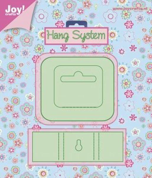 Joy Crafts - Ophæng - Hang System - 6002/0411 dies standsejern til scrapbooking og kort