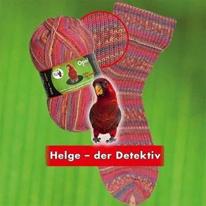 Opal Regenwald XI slidstærkt strømpegarn 9010 - Helge der Detektiv