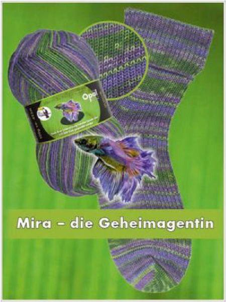 Opal Regenwald XI slidstærkt strømpegarn 9011 - Mira der Geheimagentin