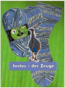 Opal Regenwald XI slidstærkt strømpegarn 9012 - Justus der Zeuge