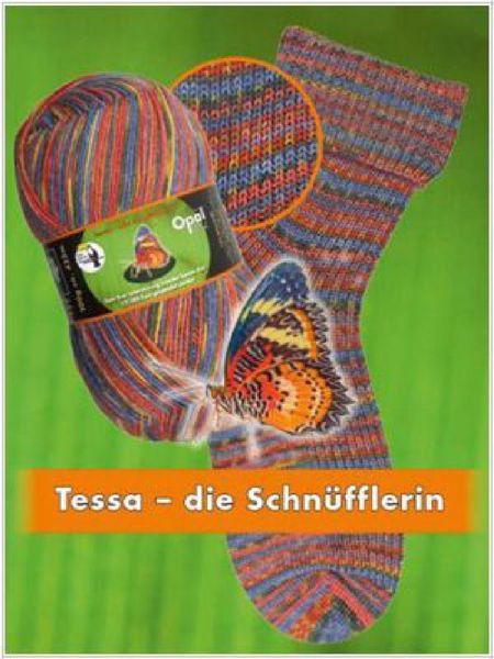 Opal Regenwald XI slidstærkt strømpegarn 9017 - Tessa die Scchnüfflerin