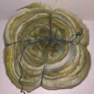 Håndmalet Alpakke tops til spinding af lækre bløde garner - Forberedt til 2-trådet garn