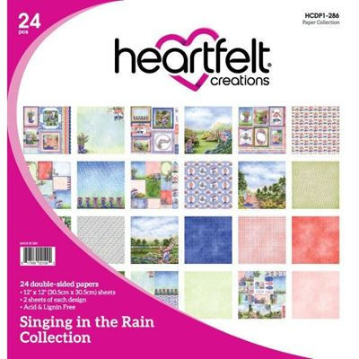 Singing in the Rain Collection - Designblok fra Heartfelt Creations - HCDP1-286