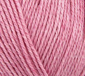 Luksuriøse Elise by Permin - Bomuld med 10% Cashmere - 25 gram - Rosa 881106