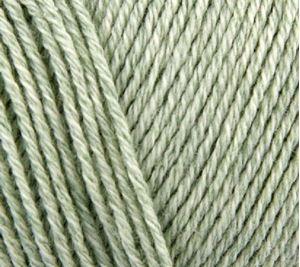 Luksuriøse Elise by Permin - Bomuld med 10% Cashmere - 25 gram - Lysegrønne 881103