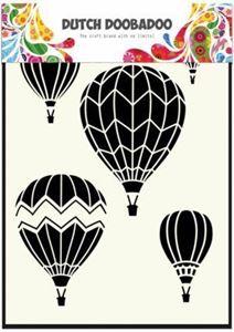 mask, stencil fra Dutch Doobadoo - luftballoner