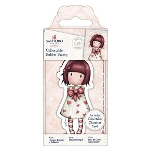 Gorjuss Collectable mini gummi stempel til scrapbooking og kort - GOR 907156 - Little Heart