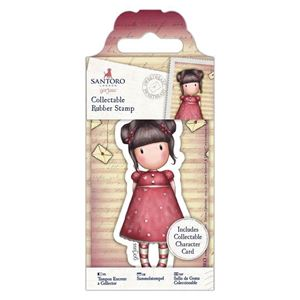 Gorjuss Collectable mini gummi stempel til scrapbooking og kort - GOR 907153 - Sweetheart