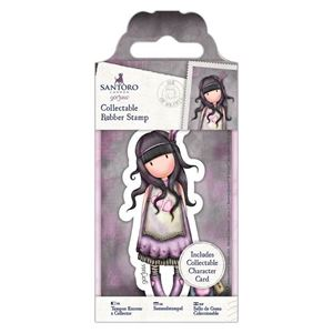 Gorjuss Collectable mini gummi stempel til scrapbooking og kort - GOR 907149 - Jar of Hearts