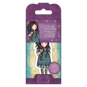 Gorjuss Collectable mini gummi stempel til scrapbooking og kort - GOR 907402 - Pulling On Your Heart Strings