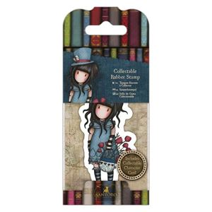 Gorjuss Collectable mini gummi stempel til scrapbooking og kort - GOR 907409 - The Hatter