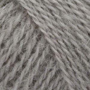 Mohair + Wool, lækkert pelset strikkegarn fra ONION - 304 Grå