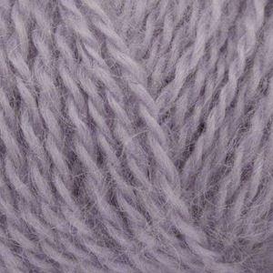 Mohair + Wool, lækkert pelset strikkegarn fra ONION - 308 Lavendel