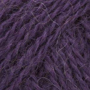 Mohair + Wool, lækkert pelset strikkegarn fra ONION - 309 Lilla