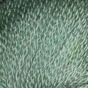 Mohair + Wool, lækkert pelset strikkegarn fra ONION - 320 Støvet Flaskegrøn