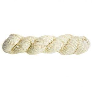 ALP Natural fra FEZA yarn - forskellige garner af naturmaterialer samlet med knuder - 701 Naturhvid