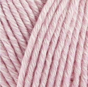 Organic Cotton + Merino Wool strikkegarn fra ONION - 724 Rosa