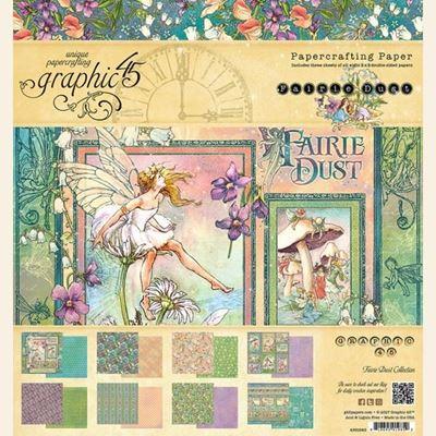 Papir blok 8x8 fra Graphic 45 - Fairie Dust