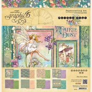 Papir kollektion 12x12 fra Graphic 45 - Fairie Dust