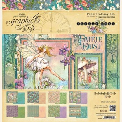 Papir kollektion 12x12 fra Graphic 45 - Fairie Dust