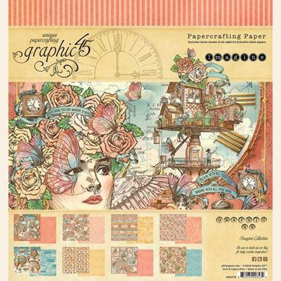 Papir blok 8x8 fra Graphic 45 - Imagine