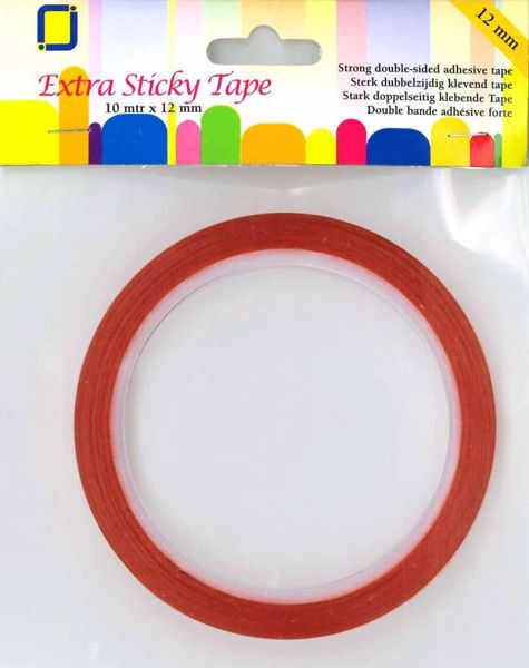 Dobbeltklæbende Red Liner tape til scrapbooking og kort . 12 mm