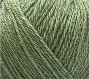 Blødt blandingsgarn af Uld og Bomuld - Esther by Permin - Lys grøn 883432