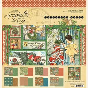 Papir kollektion 12x12 fra Graphic 45 - Christmas Magic