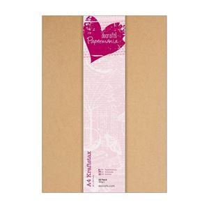 Kraft karton fra Docrafts Papermania scrapbooking og kort
