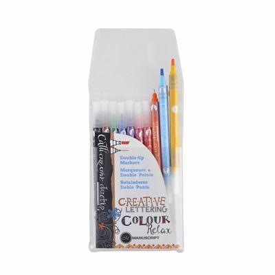 Manuscrift CalliCreative duotip Markers til farverig kalligrafi og farvelægning