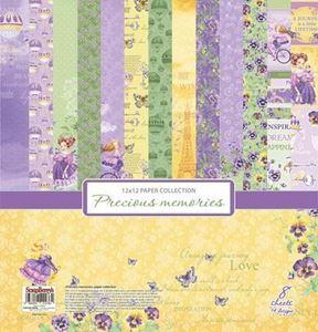 Precious Moments design papir pakning fra Scrapberry's til scrapbooking og kort - SCB220610800b